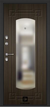 Лиственница темная 16 мм с зеркалом (модерн)